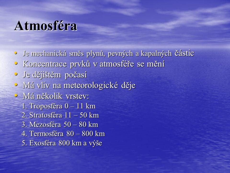 Meteorologie, základní meteorologické jevy a jejich měření METEOROLOGIE- věda, zabývající se studiem a měřením vlastností, které v ovzduší probíhají M