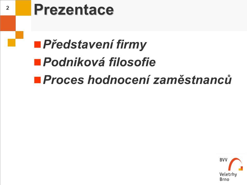 3 Veletrhy Brno, a.s. Stručný profil