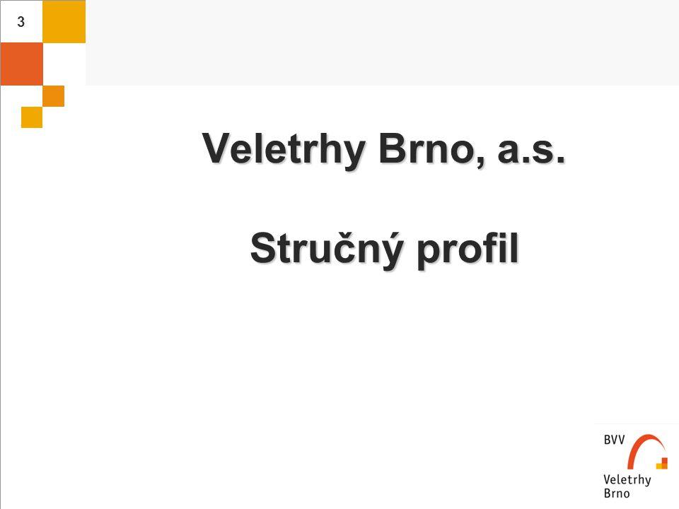 4 Naši vlastníci: Messe Düsseldorf60,4 % Messe Düsseldorf60,4 % město Brno33,8 % město Brno33,8 % minoritní akcionáři 5,8 % minoritní akcionáři 5,8 % Vlastnická struktura firmy Veletrhy Brno kopíruje německý model
