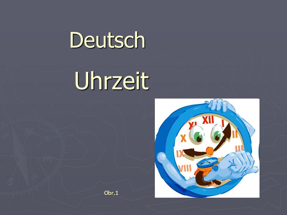 Deutsch UhrzeitObr.1