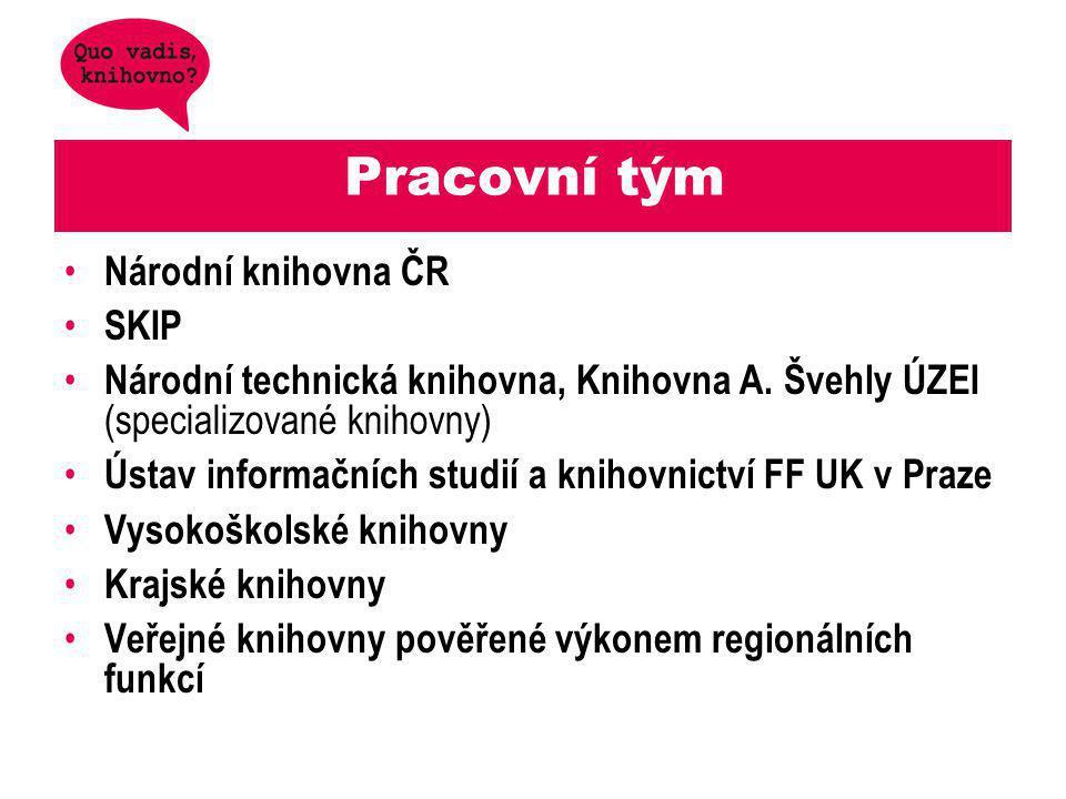 Pracovní tým Národní knihovna ČR SKIP Národní technická knihovna, Knihovna A.