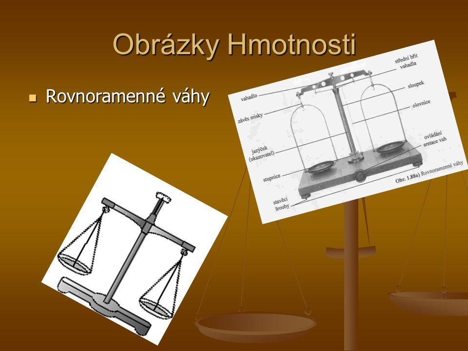 Obrázky Hmotnosti Rovnoramenné váhy Rovnoramenné váhy