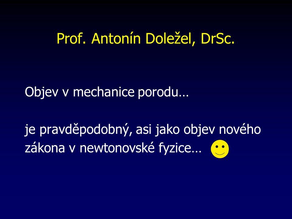 Prof.Antonín Doležel, DrSc.