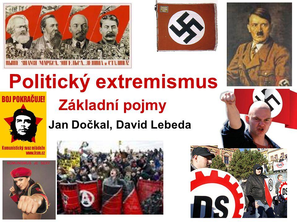 Co je poltický extremismus.