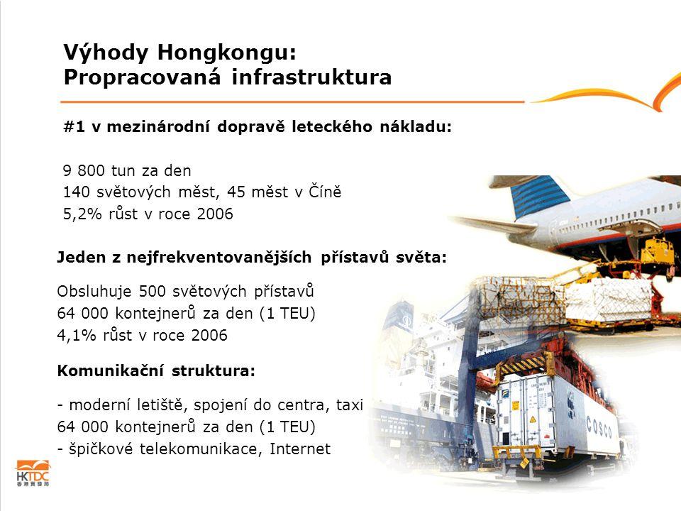#1 v mezinárodní dopravě leteckého nákladu: 9 800 tun za den 140 světových měst, 45 měst v Číně 5,2% růst v roce 2006 Jeden z nejfrekventovanějších př