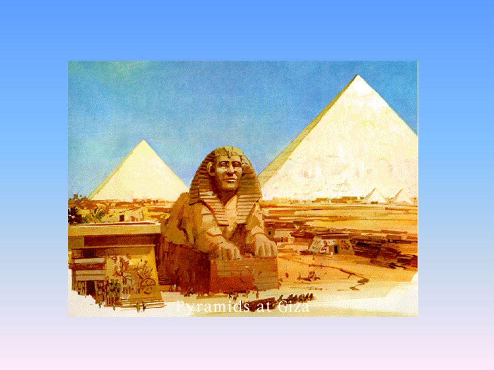 """""""Velká pyramida"""" v Gíze Chufevova (Cheopsova) 146 m vysoká, strana základny 234 m, objem 2 600 000m 3 Senzační tvrzení: při stavbě uplatněna zvláštní"""