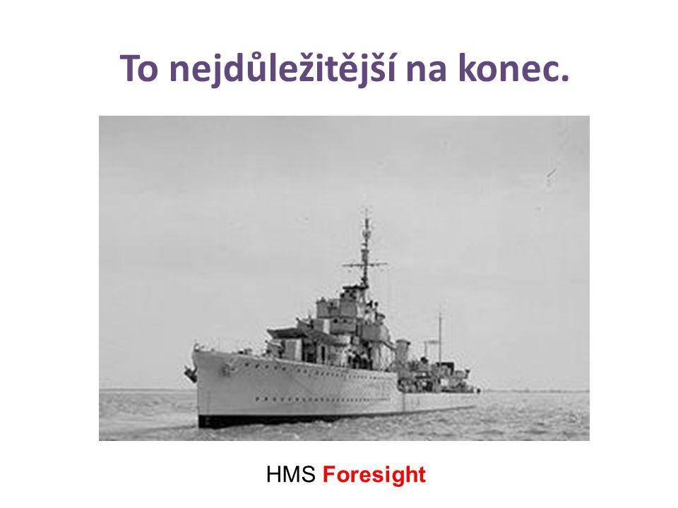 To nejdůležitější na konec. HMS Foresight Jaká je metodika celého procesu.