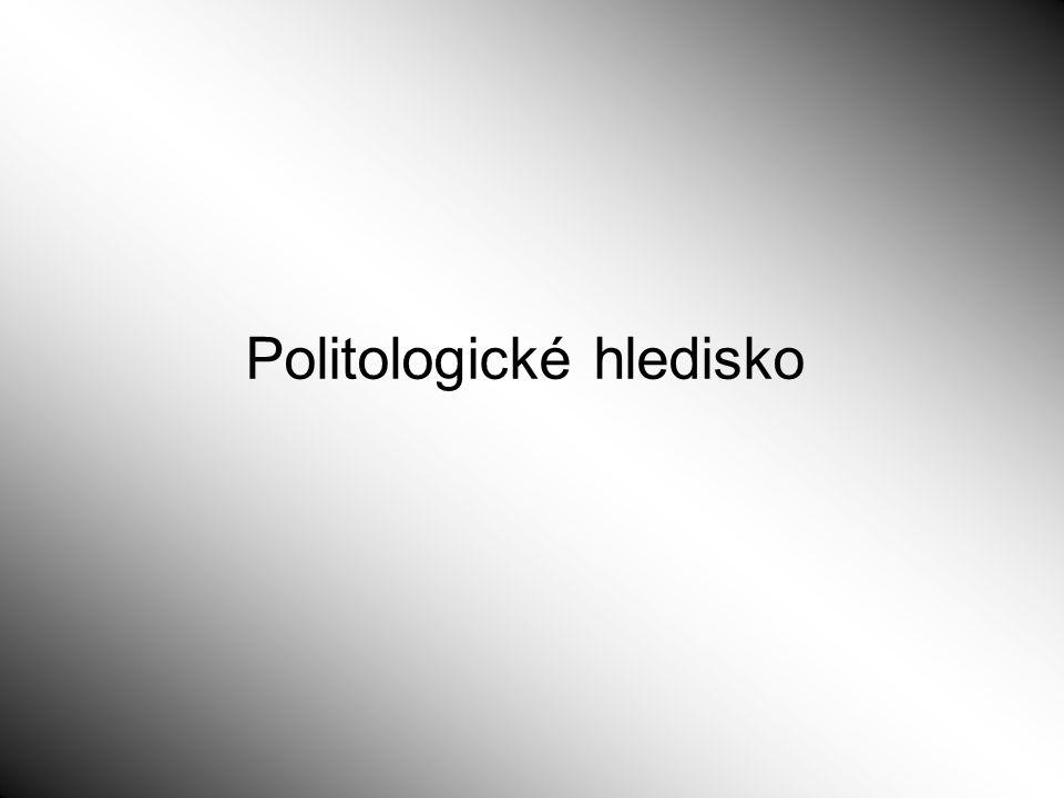 Politologické hledisko