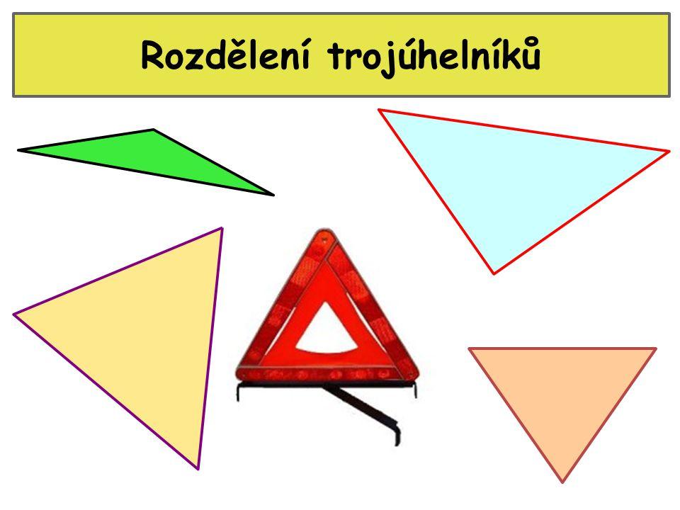 Rozdělení trojúhelníků