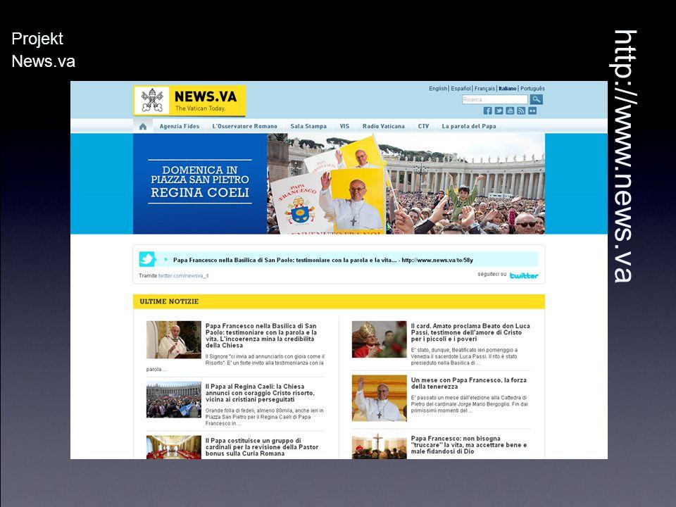 Projekt News.va http://www.news.va