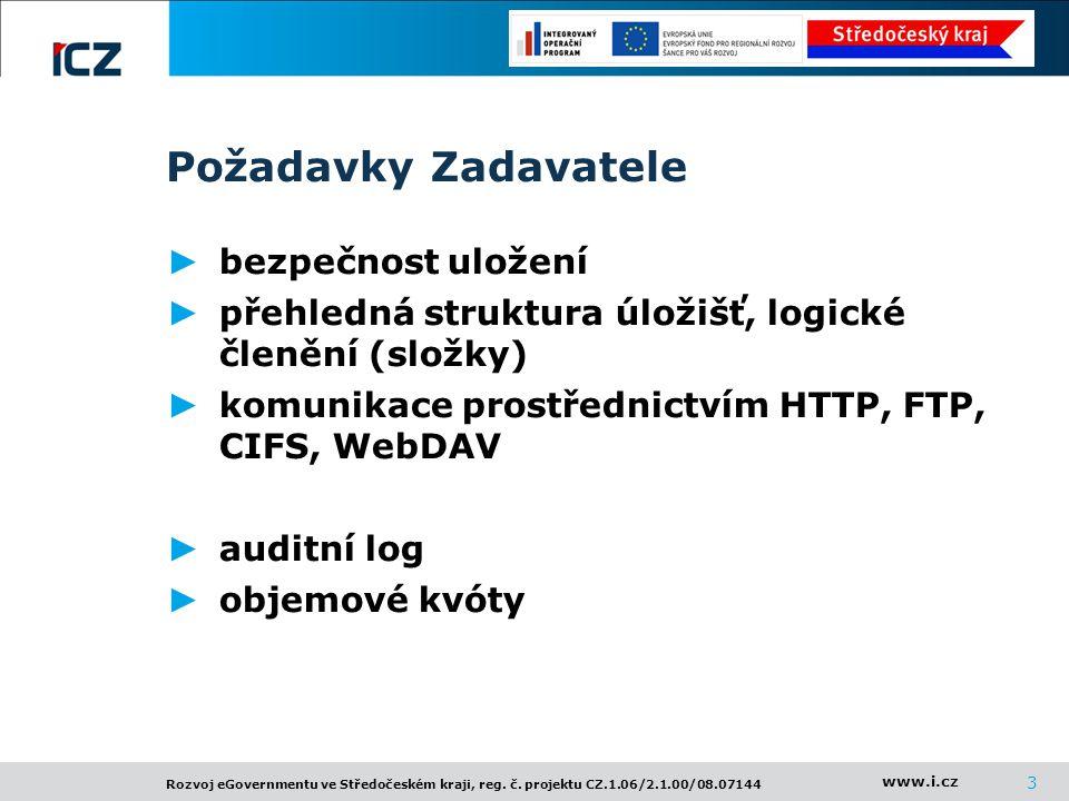 www.i.cz Rozvoj eGovernmentu ve Středočeském kraji, reg.
