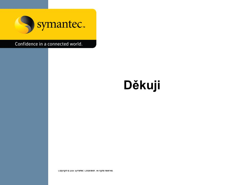 SYMANTEC PROPRIETARY/CONFIDENTIAL – INTERNAL USE ONLY Copyright © 2008 Symantec Corporation.