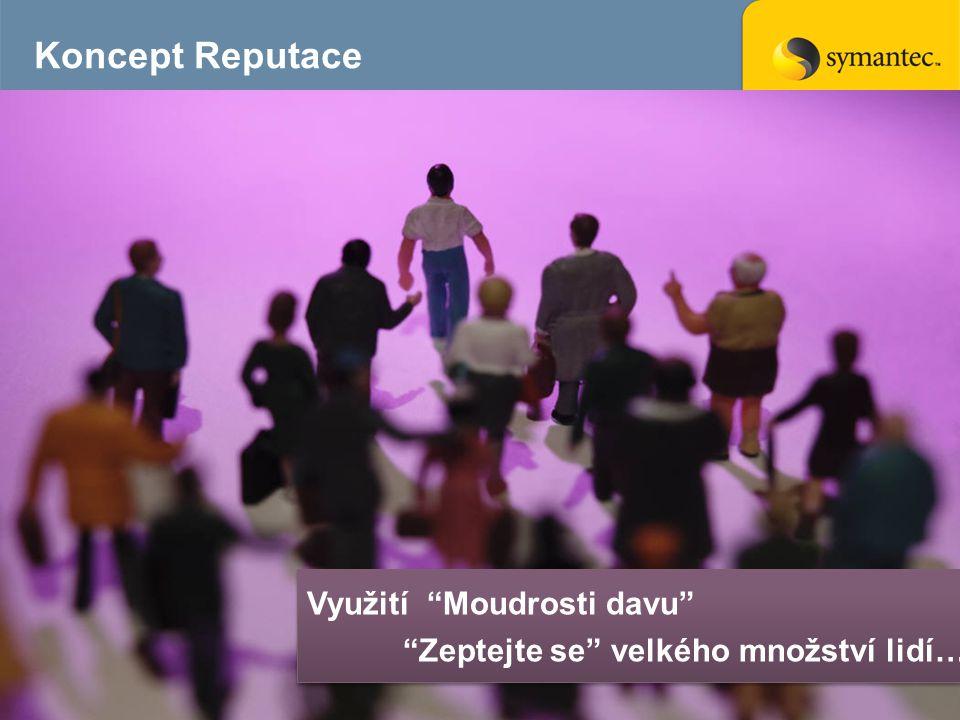 Koncept Reputace 9 Využití Moudrosti davu Zeptejte se velkého množství lidí… Využití Moudrosti davu Zeptejte se velkého množství lidí…