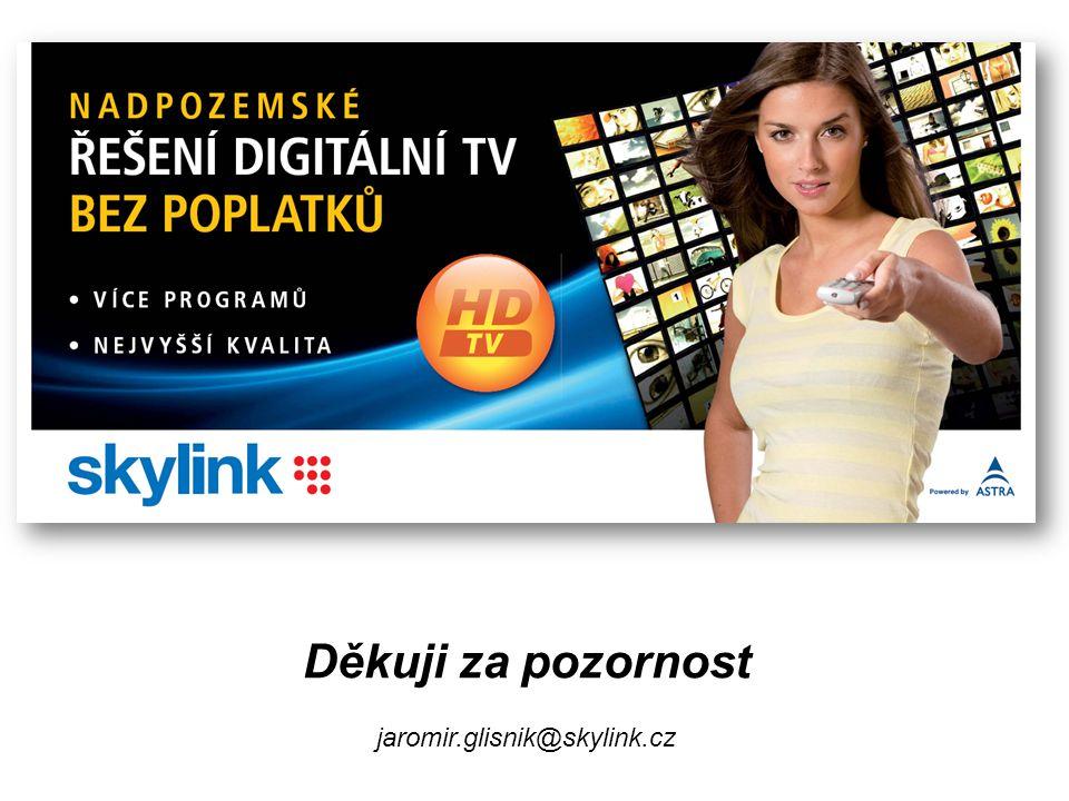 Děkuji za pozornost jaromir.glisnik@skylink.cz