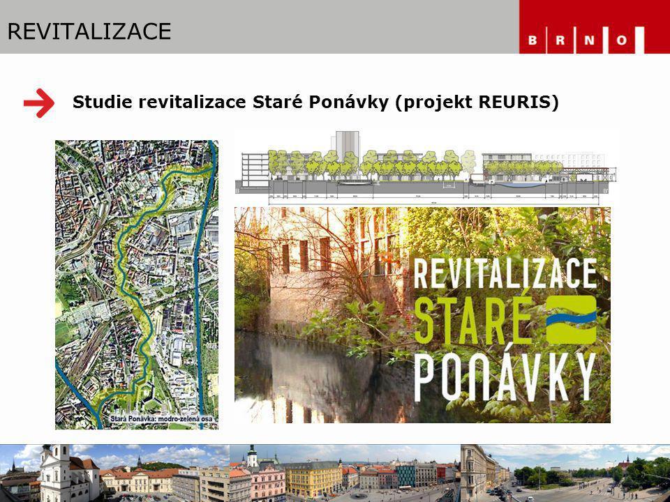 Studie revitalizace Staré Ponávky (projekt REURIS) REVITALIZACE