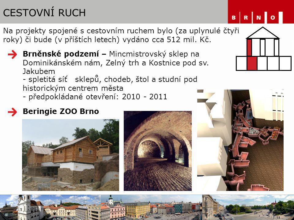 CESTOVNÍ RUCH Hodiny na Nám. Svobody Rozsáhlá rekonstrukce vily Tugendhat www.tugendhat.eu
