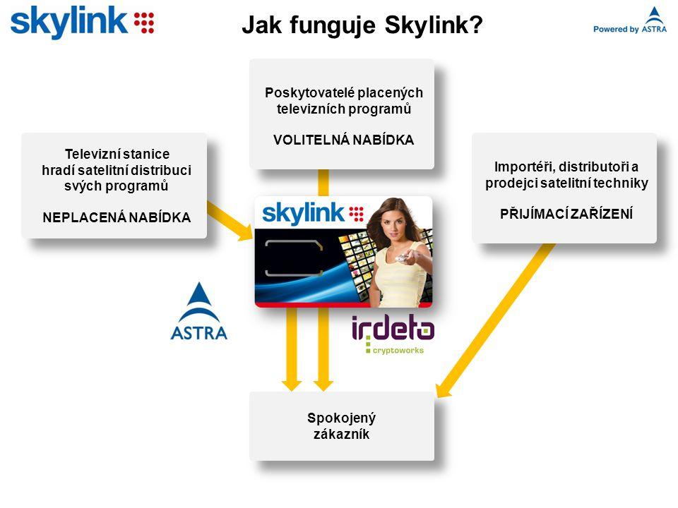 Jak funguje Skylink.