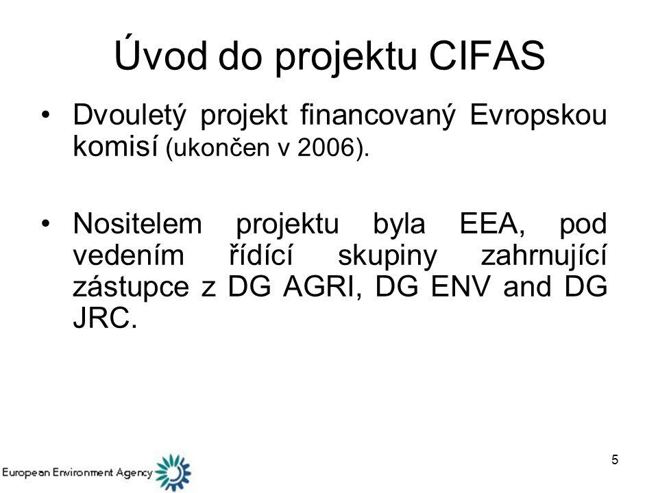 6 Hlavní cíle CIFAS Pomáhat budovat systémy zemědělského poradenství, které musí členské země EU zavést od 1.
