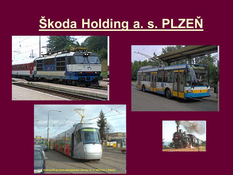 Škoda Holding a. s. PLZEŇ