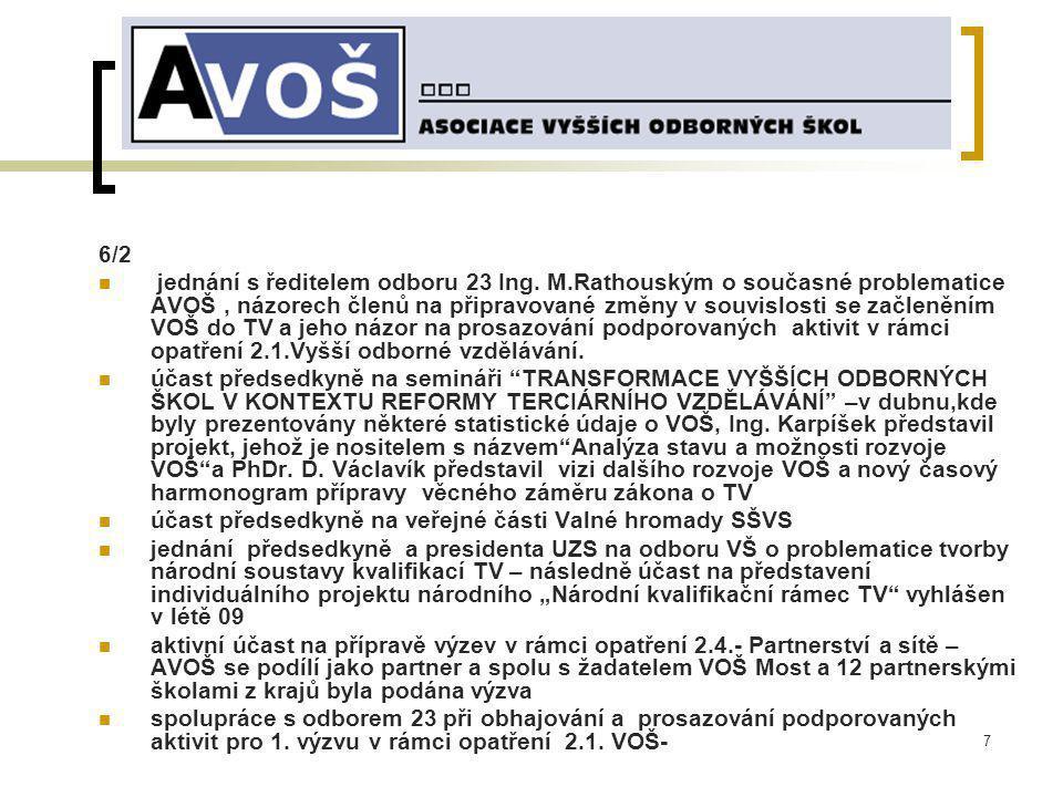 18 Nezaměstnanost absolventů SOU s maturitou, SOŠ a VOŠ podle oborů, duben 2008