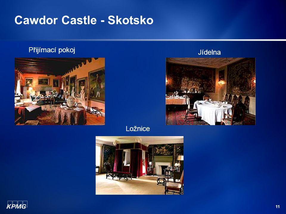11 Cawdor Castle - Skotsko Přijímací pokoj Jídelna Ložnice