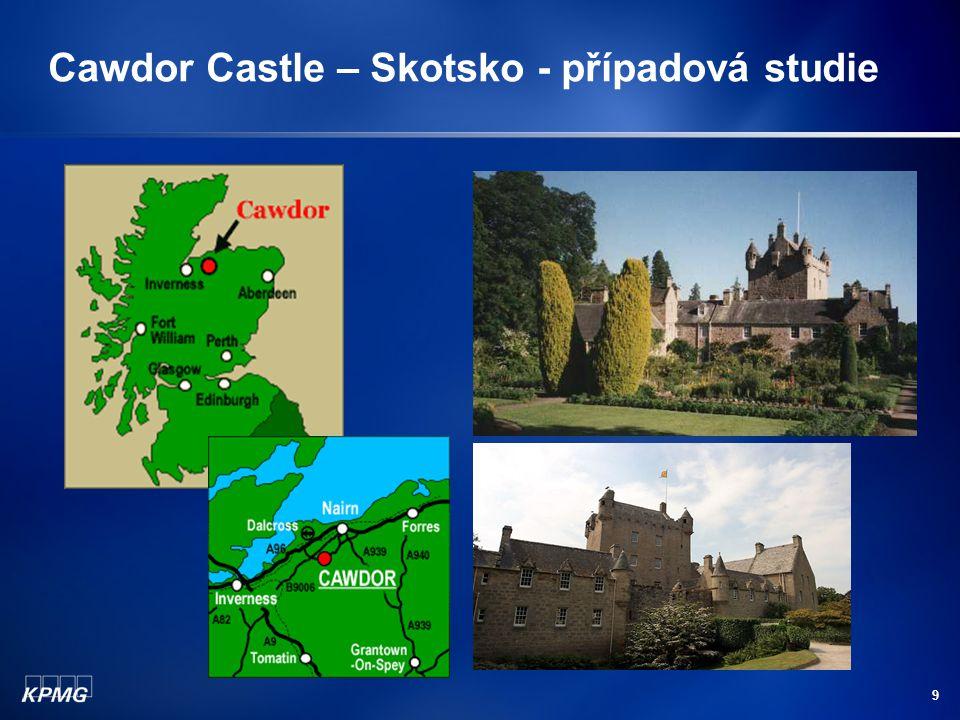 9 Cawdor Castle – Skotsko - případová studie
