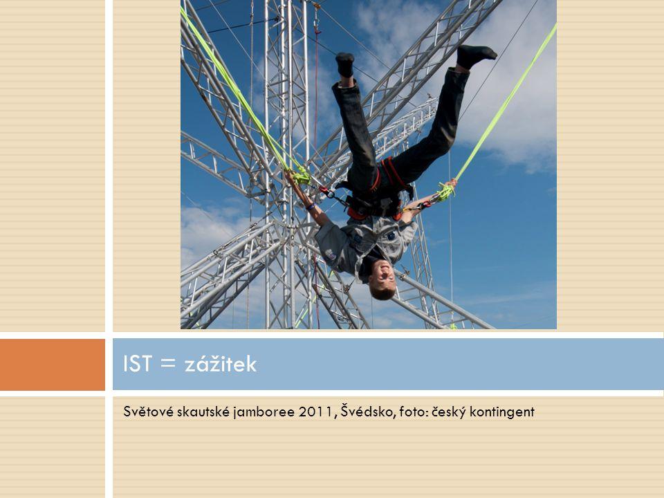 Světové skautské jamboree 2011, Švédsko, foto: český kontingent IST = zážitek