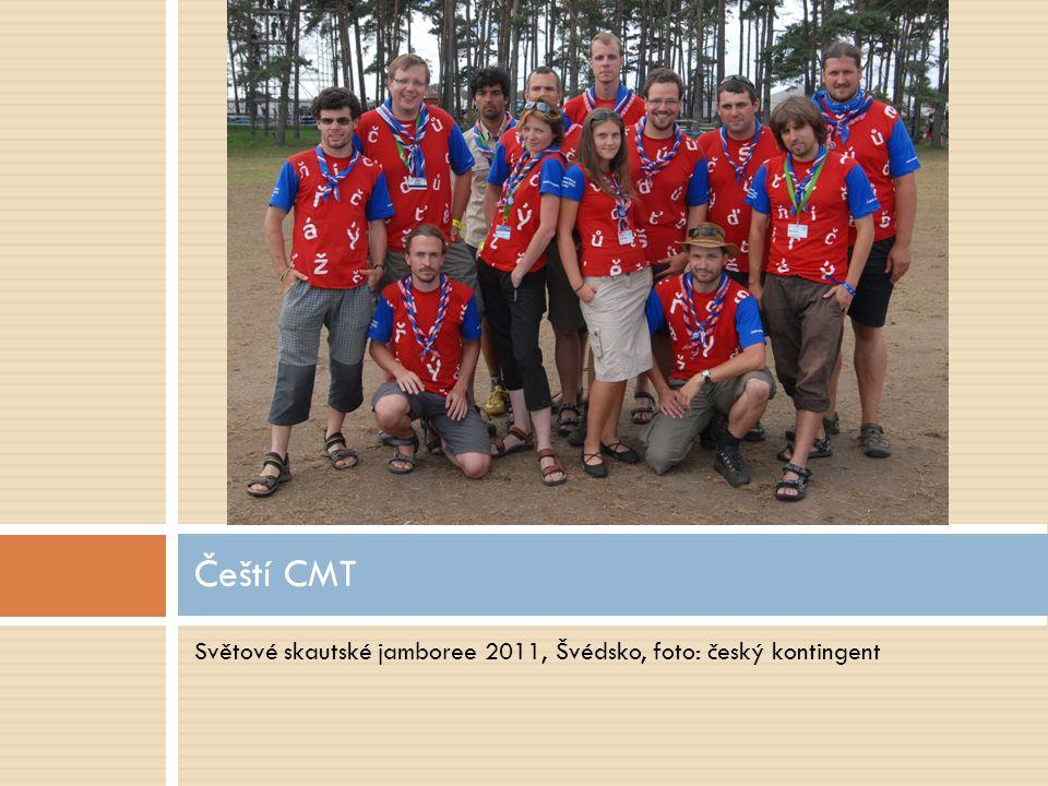 Světové skautské jamboree 2011, Švédsko, foto: český kontingent Čeští CMT