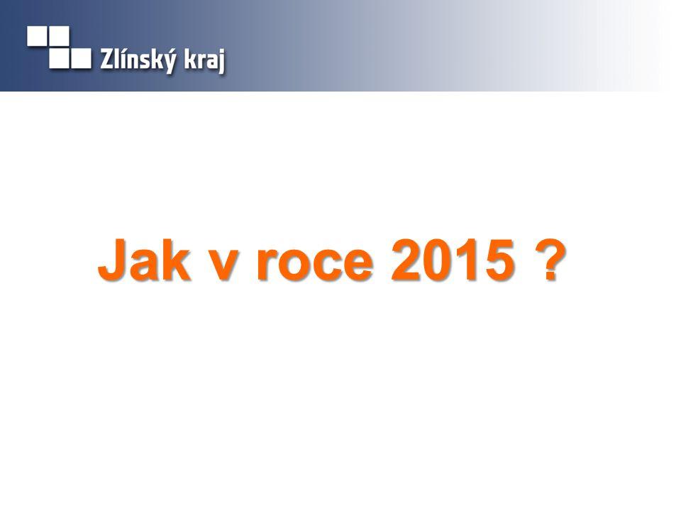 Jak v roce 2015 ?