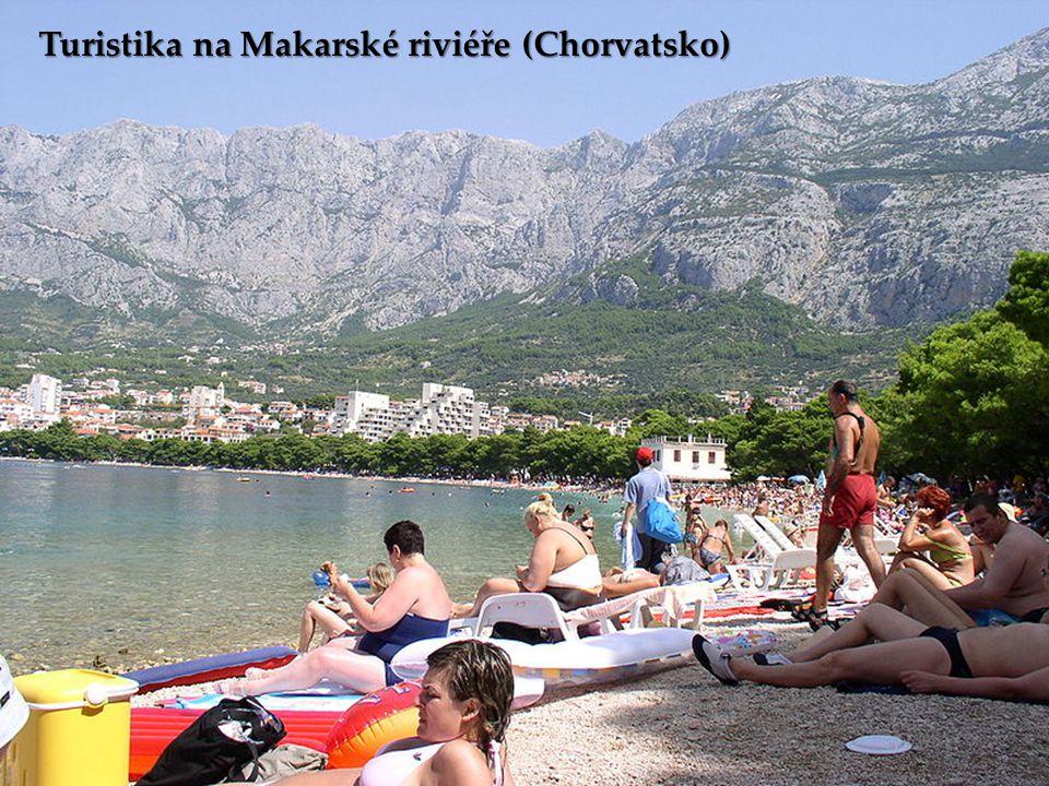 Turistika na Makarské riviéře (Chorvatsko)