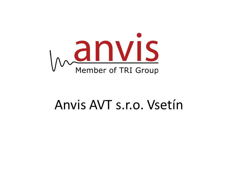 Anvis AVT s.r.o. Vsetín