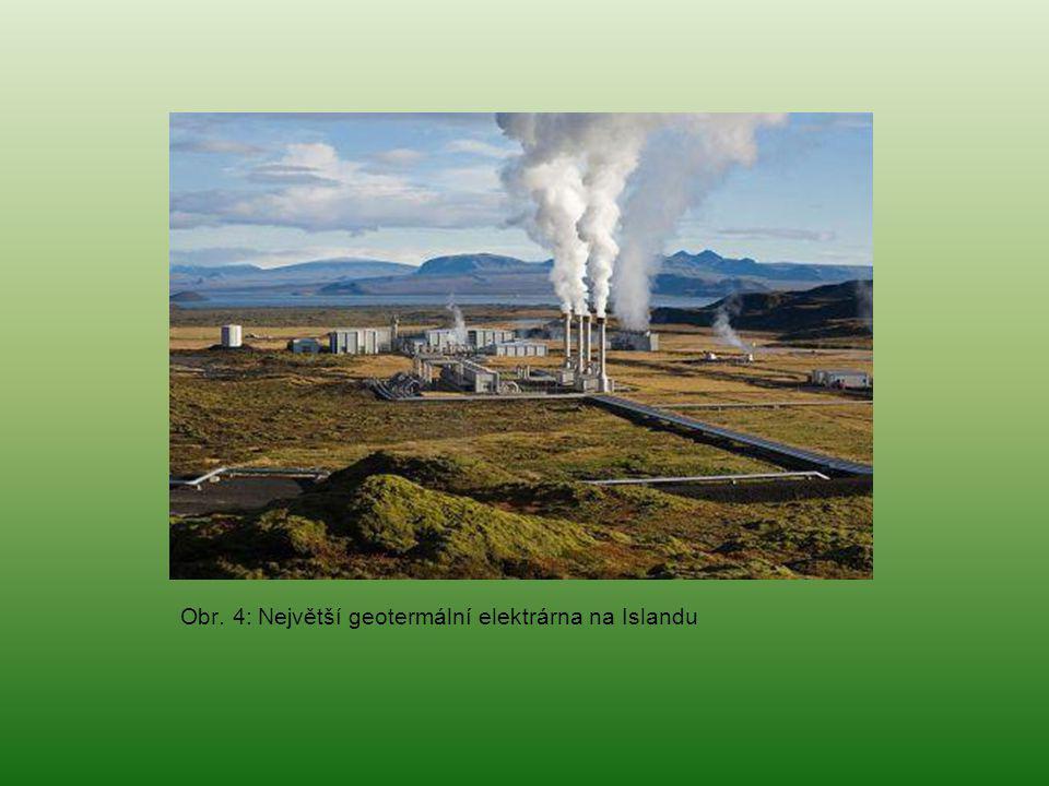 Obr. 4: Největší geotermální elektrárna na Islandu
