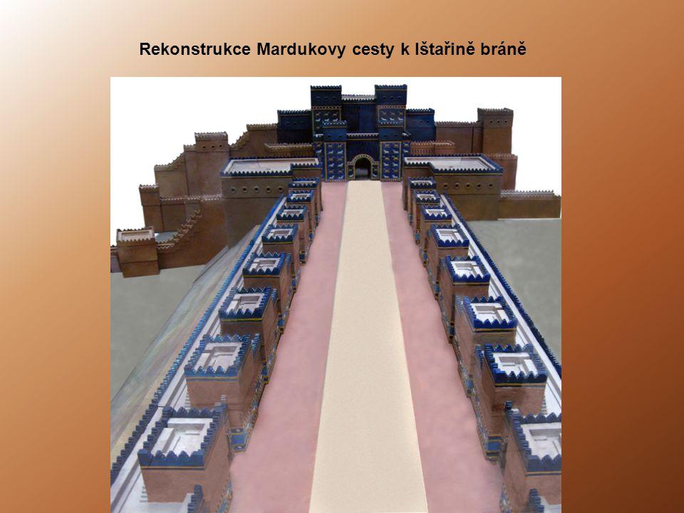 Rekonstrukce Mardukovy cesty k Ištařině bráně