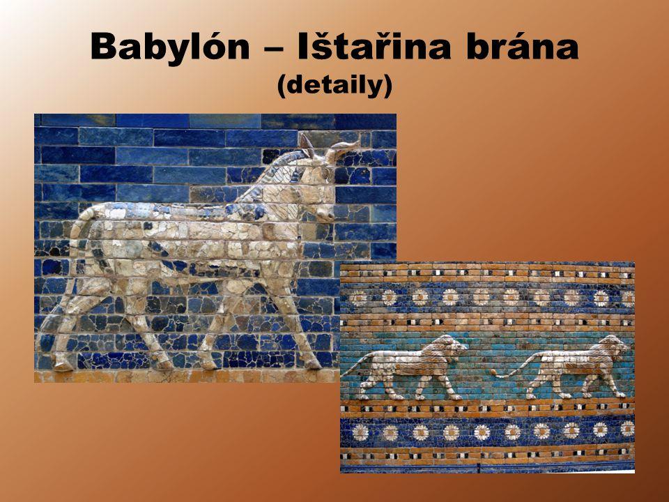 Babylón – Ištařina brána (detaily)