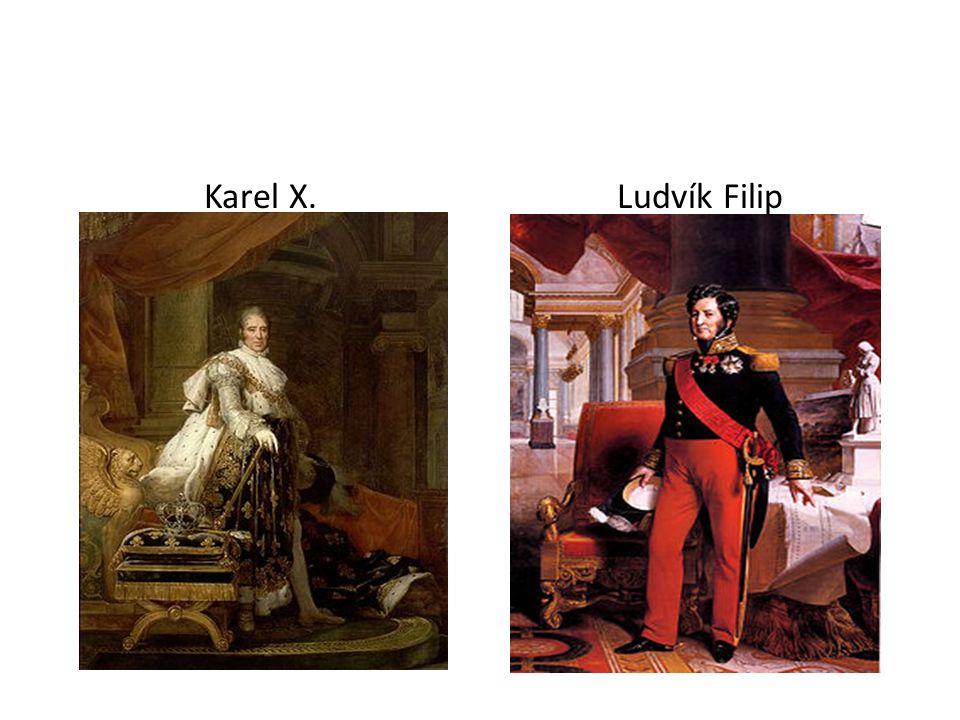 Karel X.Ludvík Filip