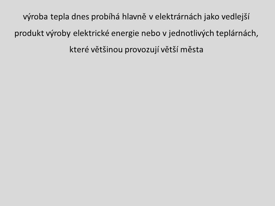 Tepelné elektrárny mají obrovské dopady na životní prostředí, potřebují velké zdroje vody pro výrobu páry ložiska hnědého uhlí a největší elektrárny jsou v severních Čechách Prunéřov, Počerady, Tušimice, dále v Polabí Chvaletice, a na Ostravsku Dětmarovice.