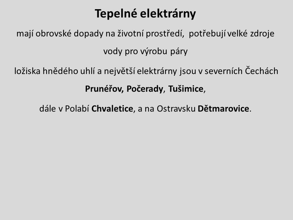 Obr. 3 Prunéřov – největší zdroj znečištění v ČR