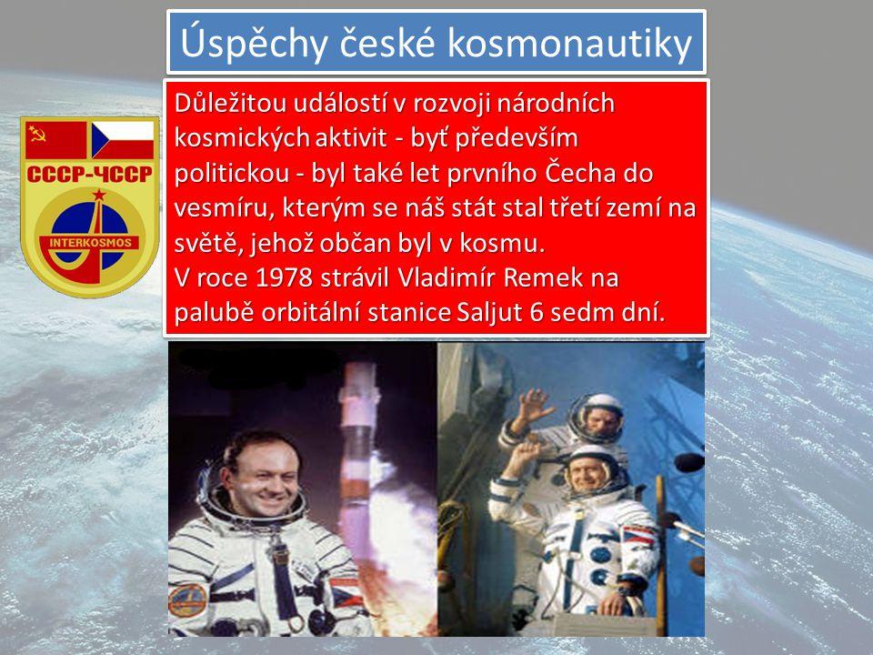 ISS =Jediná trvale obydlená vesmírná stanice. První díl stanice, modul Zarja, byl vynesen na oběžnou dráhu 20. listopadu 1998. Od 2. listopadu 2000, k