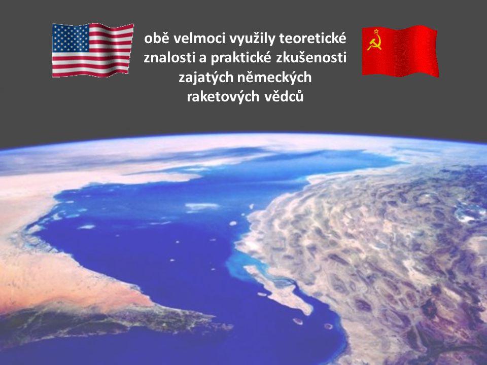 Rivalita mezi USA a SSSR v době studené války rozpoutala v době studené války rozpoutala kosmické závody
