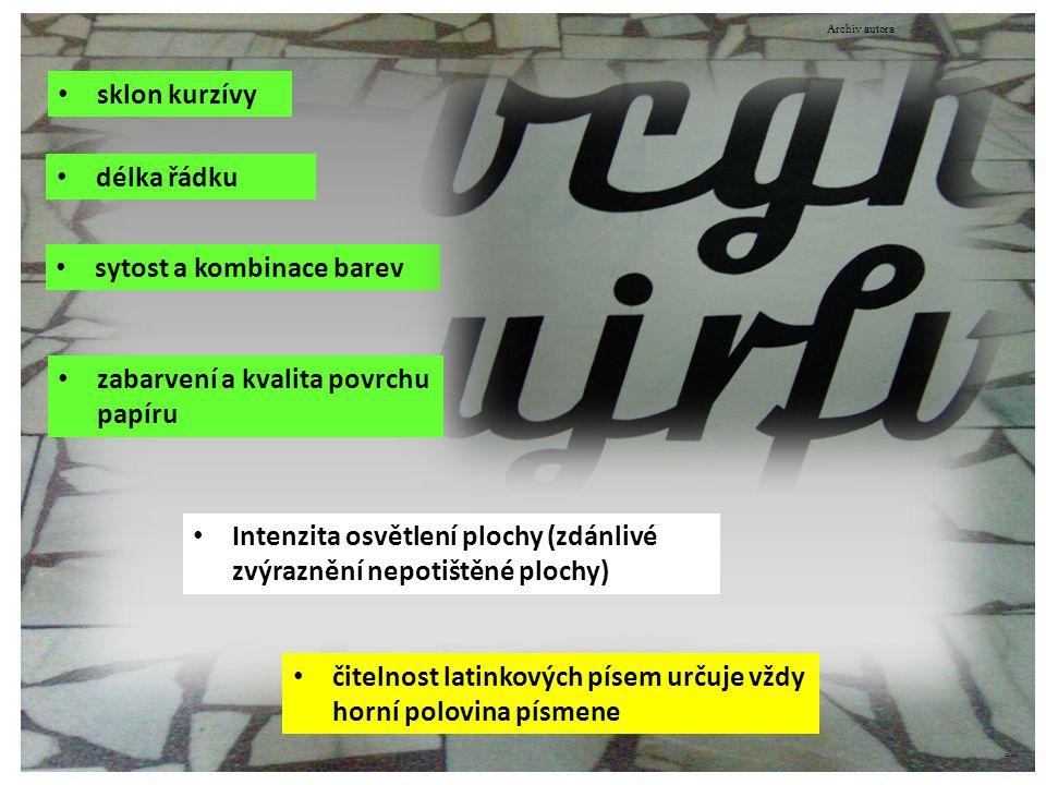 ©c.zuk Odborné názvosloví konstrukce písma