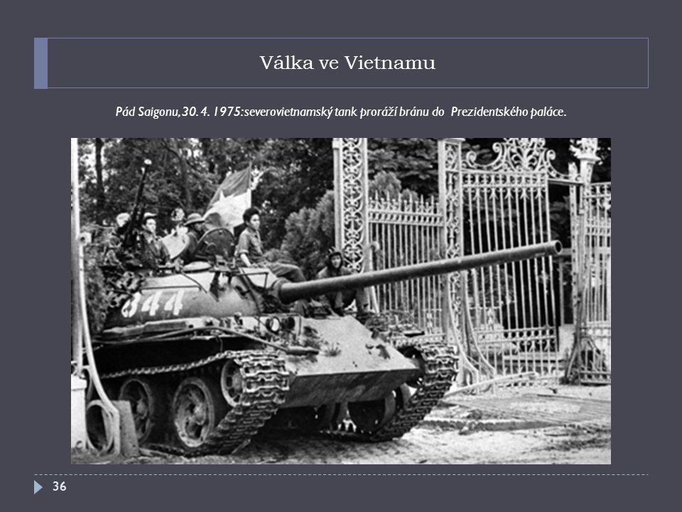 Válka ve Vietnamu Pád Saigonu, 30.4.
