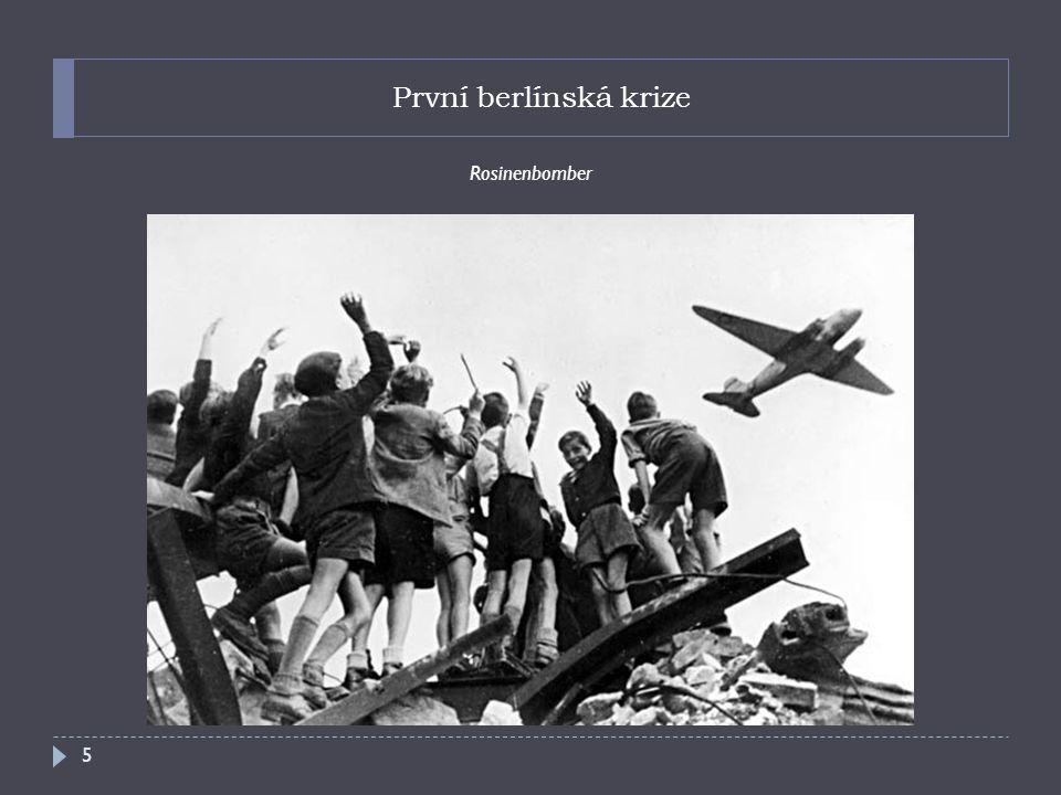 První berlínská krize Rosinenbomber 5