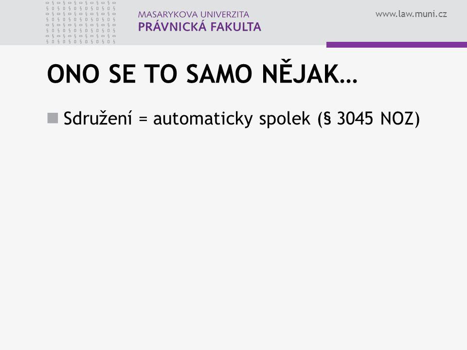 www.law.muni.cz CO TO JE.