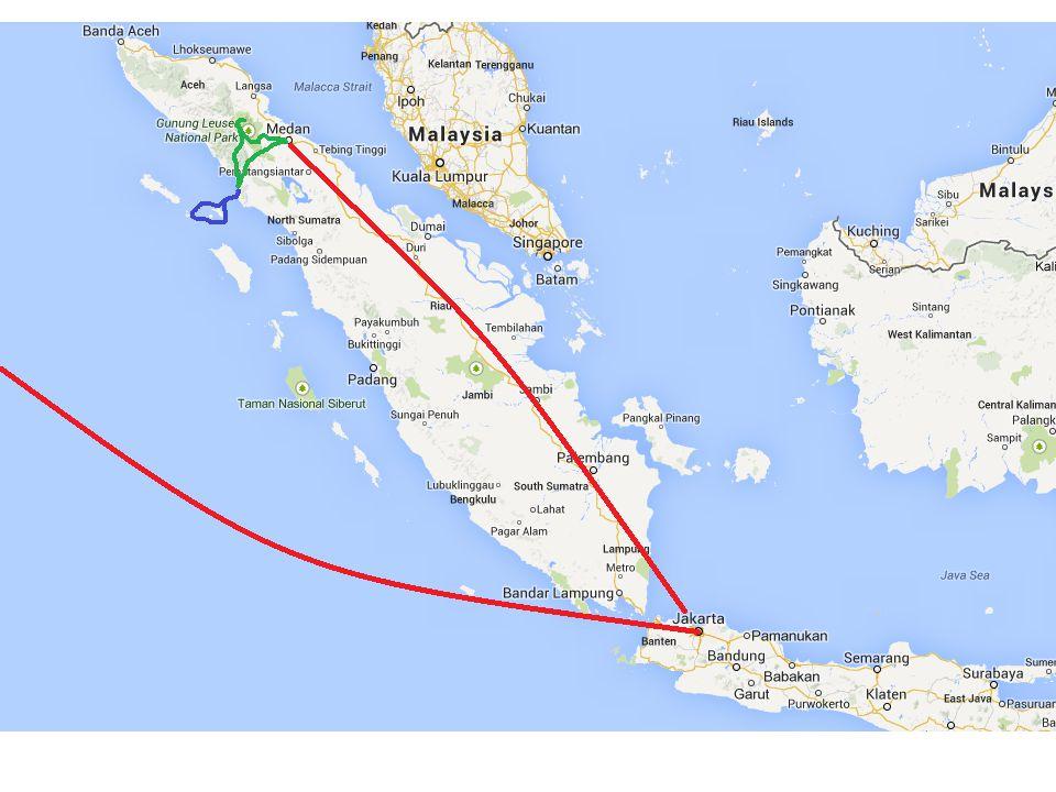 Jakarta je poměrně zajímavé velkoměsto, ale vzhledem k tomu, že dálky lákají, zdržíme se zde jen pár dní.