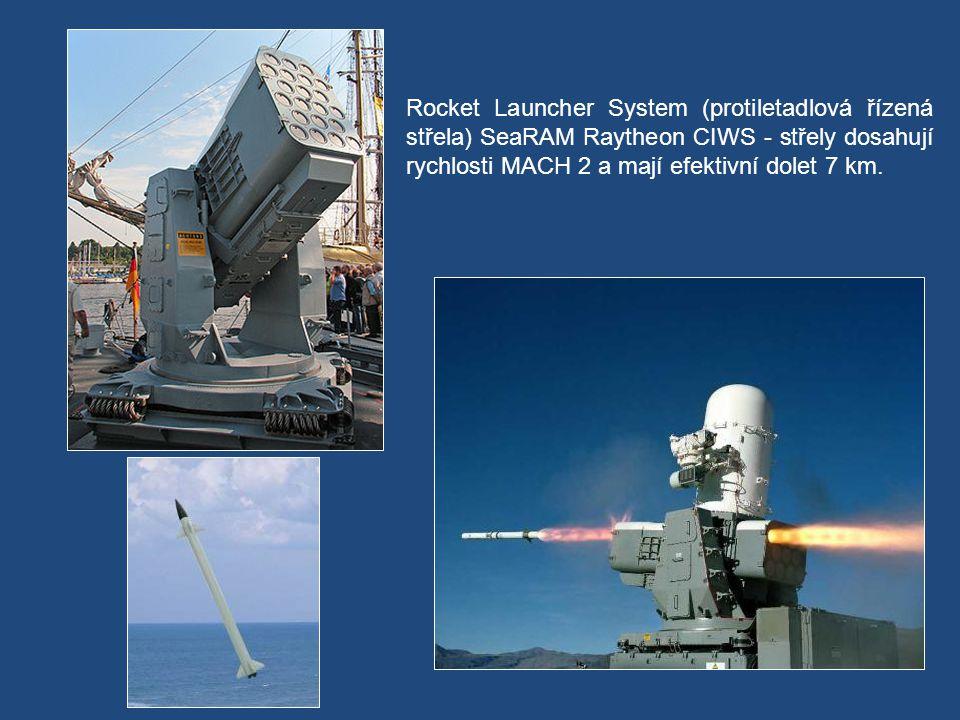 Decoy Launching Systém - zařízení, které chrání loď před útokem řízených střel.