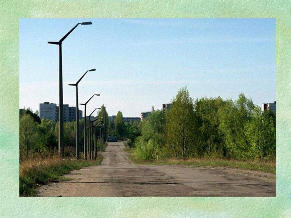 §Nacházím se v městě Černobyl. Nepěkné město. Byla to jakási základna, v niž žili všichni kdo pracovali v atomové elektrárně. Dozimetr měří jen 20-80