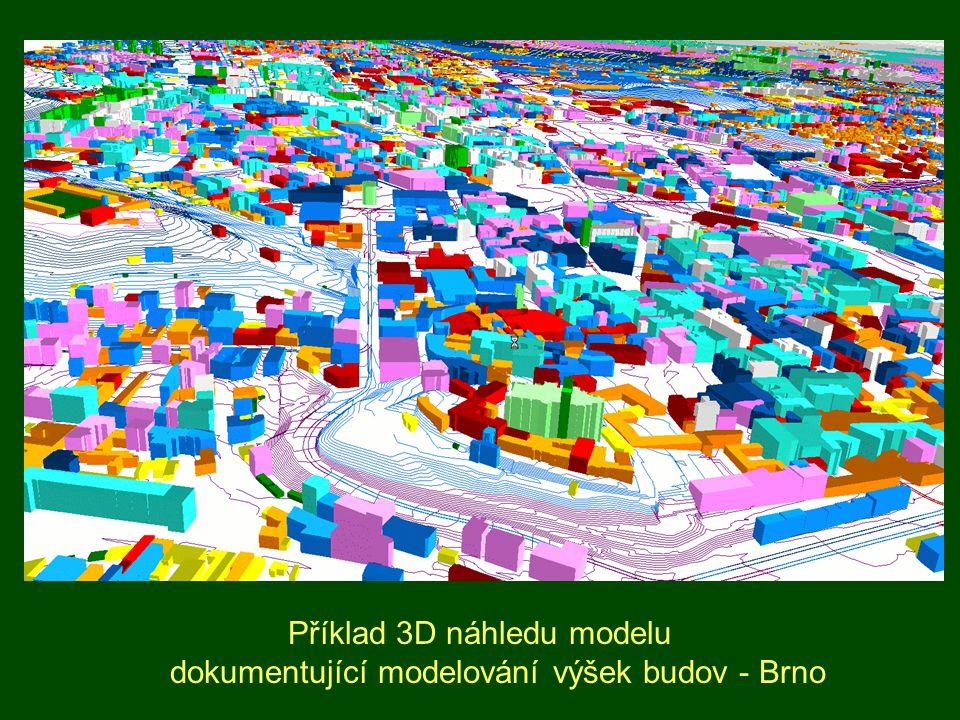 Situace obytného souboru bez protihlukové clony Horizontální hluková mapa ve výšce 3 m nad zemí