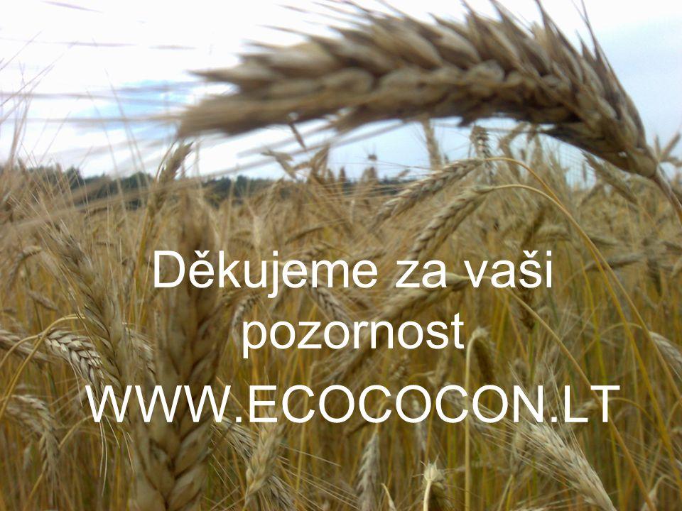 Děkujeme za vaši pozornost WWW.ECOCOCON.LT