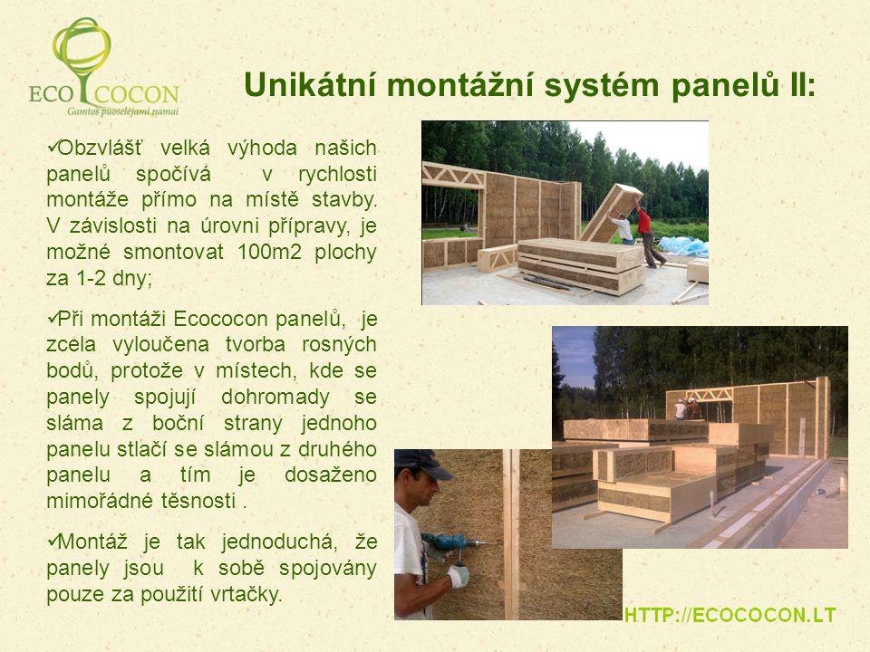 Obzvlášť velká výhoda našich panelů spočívá v rychlosti montáže přímo na místě stavby. V závislosti na úrovni přípravy, je možné smontovat 100m2 ploch