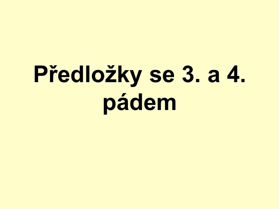v němčině se některé předložky pojí s oběma pády pád lze určit podle významu věty k určení pádu pomáhají otázky, které vždy signalizují daný pád